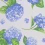 Hortensias azul resinado