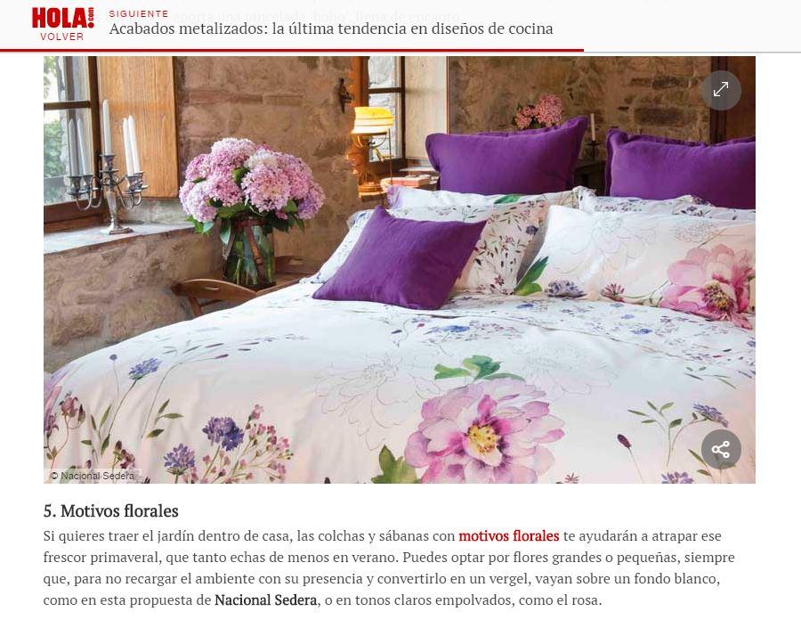 ¿Sabes cómo vestir tu cama para el verano? ¡Toma nota de nuestras opciones más frescas!